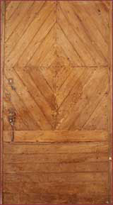image:diamond pattern oak door