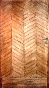 image::double herringbone oak door